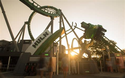 theme park updates incredible hulk coaster now open at islands of adventure