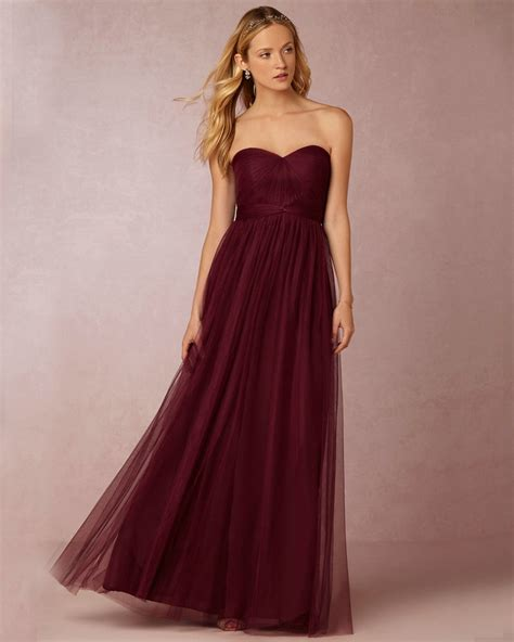 wine colored dress popular wine colored bridesmaids dresses buy cheap wine