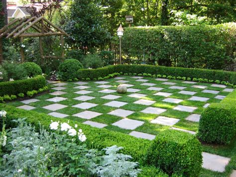 s s landscaping checkerboard