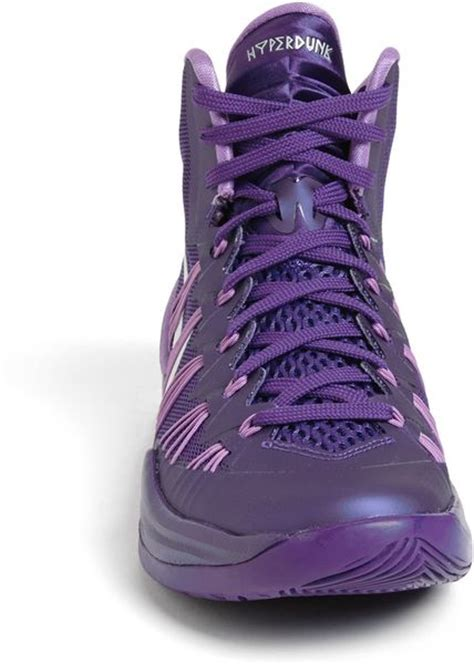 nike basketball shoes purple nike sneakers s high tops trainers lyst