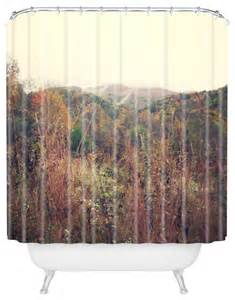 Rustic Shower Curtains Catherine Mcdonald Autumn In Appalachia Shower Curtain Rustic Shower Curtains By Deny Designs