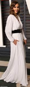 hollywood actress popularised white dress jennifer lawrence rocks sexy crop top and maxi skirt at