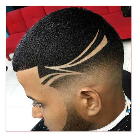 shaved haircut two lines men hairstyles with lines fade haircut