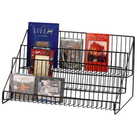 Countertop Wire Display Racks by Three Step Wire Countertop Display