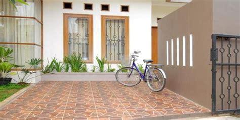 desain motif keramik lantai teras lengkap rumah impian