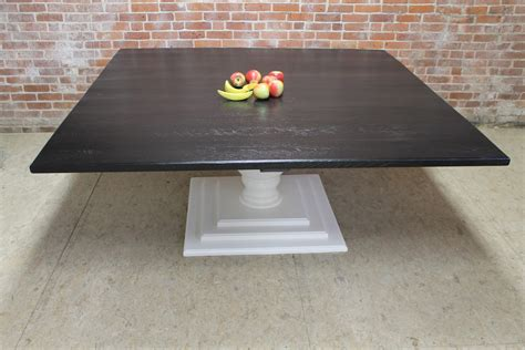 72 inch dining table rectangle 72inch square black and white table ecustomfinishes