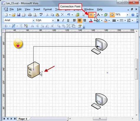 visio connection point tool swotster visio 2007 connectors 3