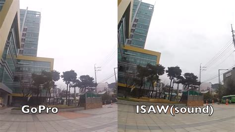 Isaw Edge gopro hero4 silver vs isaw edge comparison