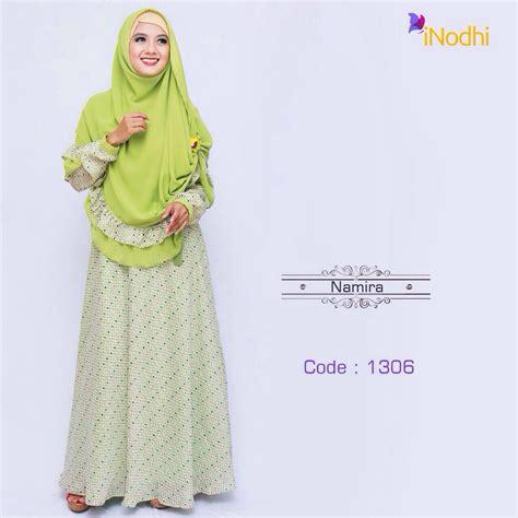 Gamis Syari Namira Namira Series 1306 Baju Muslim Gamis Modern