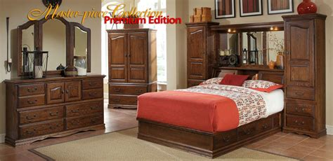 wall unit bedroom sets wall beds master piece pier group american made