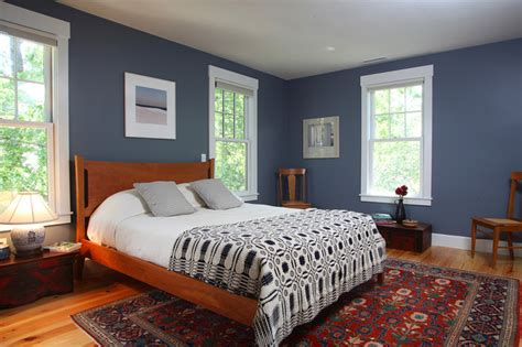 blue bedroom schemes cape cod renovation master bedroom traditional