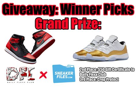 Jordan Giveaway - giveaway air jordan 1 banned closing ceremony 11 low sneakerfiles