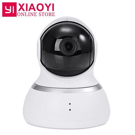 Promo Xiaomi Xiaoyi Yi Dome Ip Cctv 360 Internasional international edition xiaoyi yi 1080p dome xiaomi yi dome ip pan tilt
