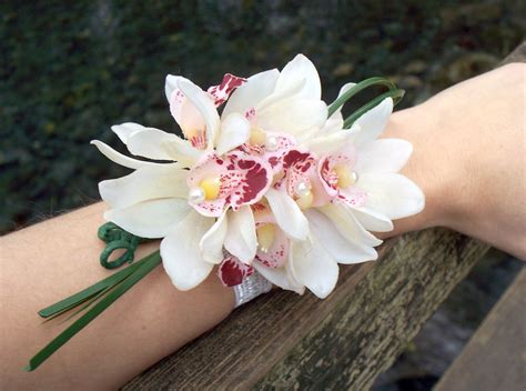 Corsage Flowers by Wrist Orchid Corsage Orchid Flowers