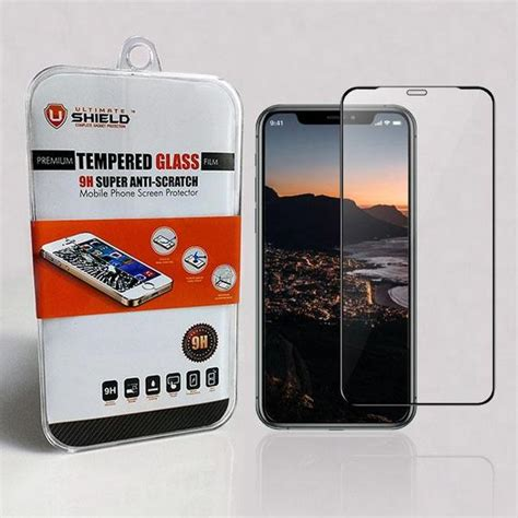 apple iphone  pro max tempered glass screen protector