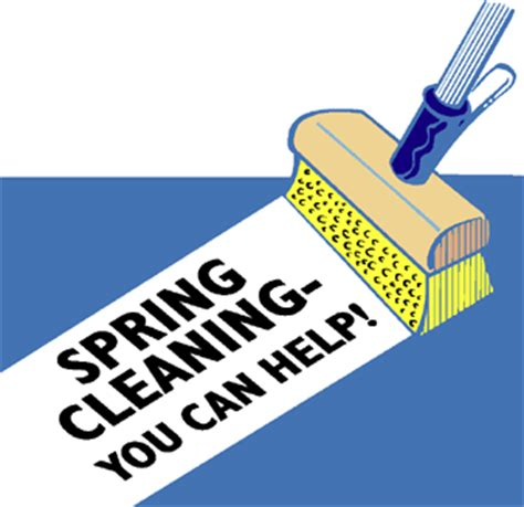 spring cleaner words of wisdom historical spring cleaning
