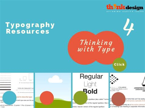 typography resources typography resources thinking with type