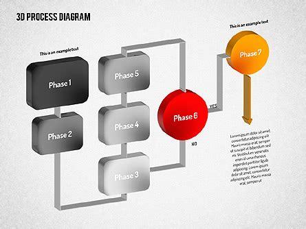 3d flowchart 3d flow chart for powerpoint presentations now