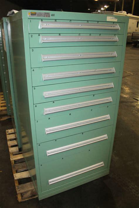 9 drawer storage cabinet stanley vidmar 9 drawer tool storage cabinet shop