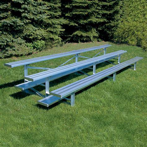 aluminum sport benches aluminum sport benches 21 all aluminum standard bleacher 3