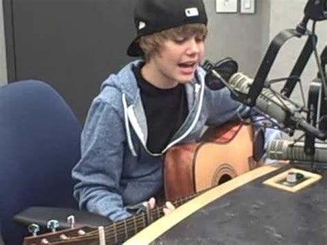justin bieber baby biography justin bieber quot one time quot acoustic youtube