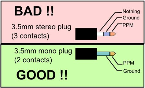 wiring diagram for 3 5 mm stereo plugs wiring