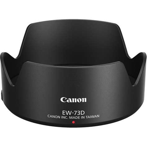 Canon Ew 73b Lens Hitam canon ew 73d lens 1277c001 b h photo