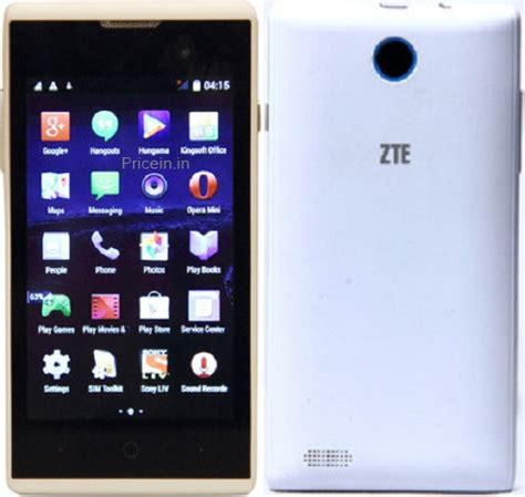 Hp Zte Type V815w zte blade buzz v815w price in india specifications