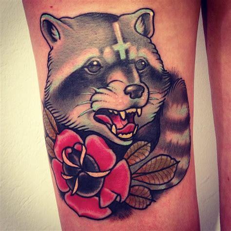 traditional fox tattoo alex d 246 rfler raccoon fox fox sances one neo