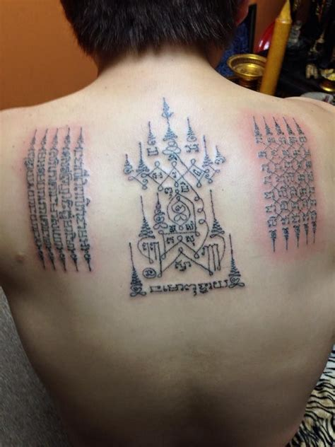 thai magic tattoos the and influence of sak yant books 169 best images about sak yant on temple