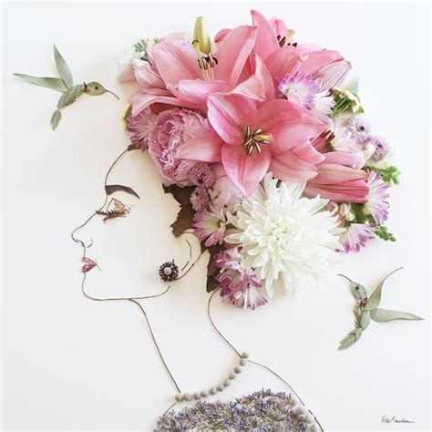the flowers art and best 25 flower art ideas on