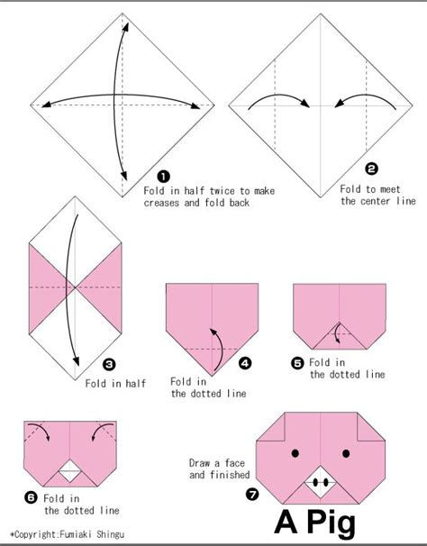 Origami For Kid - best 25 easy origami ideas on origami easy