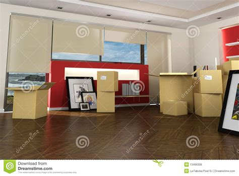 Interior Movers by New Home By The Royalty Free Stock Photos Image