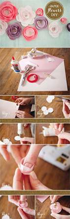 Paper Flowers How To Make - diy how to make paper flowers 792791 weddbook