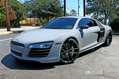 Auto Felgen by Audi R8 With 20in Niche Targa Wheels Exclusively From