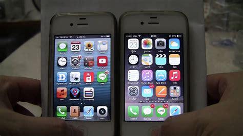 iphone 4s ios 6 1 3 vs ios 8 3 comparision