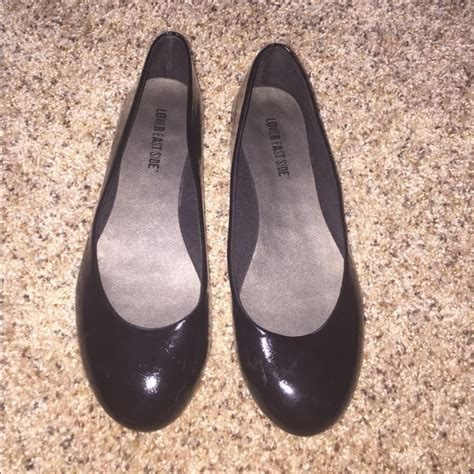 lower east side flats shoes lower east side patent black flats from s closet