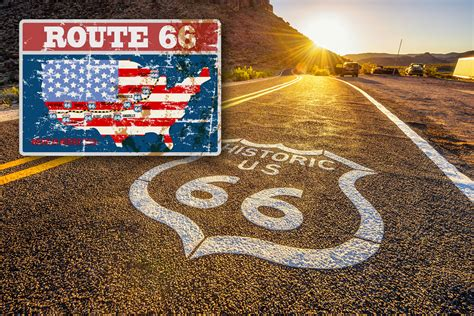 Motorradtouren Route 66 by Motorradtour Route 66 Reise Mit Der Harley Davidson Auf