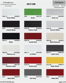 gm color codes gm paint codes 2016 car the knownledge