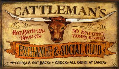 western home decor rustic old west style signs cattleman s vintage western signs large wood sign 32x20