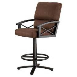 Swivel Bar Stools With Backs And Arms Furniture Brown Rattan Swivel Bar Stools With Arms