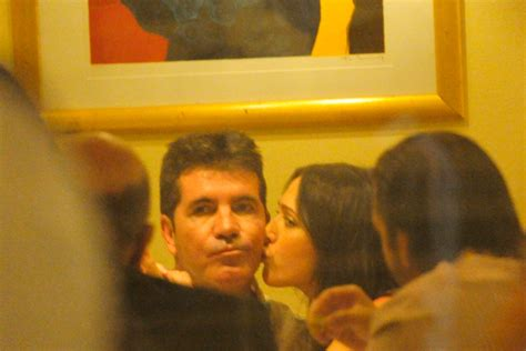 celebrity pda meaning simon cowell and lauren silverman awkward pdas explained