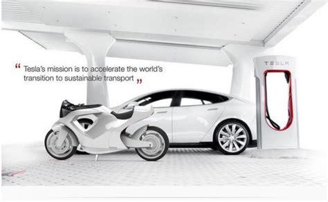 Tesla Model M Presents Another Concept Elektromototsikl Tesla Model M