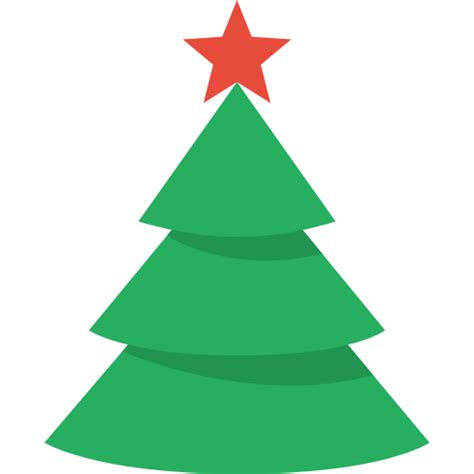 christmas tree icon christmas flat color iconset icons8