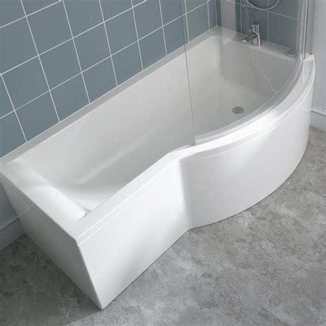 curved bathtub ideal standard concept shower bath curved screen clear