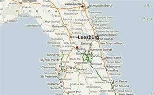 Map Of Leesburg Florida by Leesburg Florida Location Guide