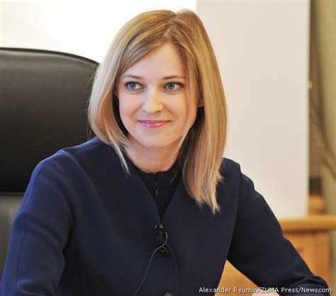 crimea s blonde attorney general natalia poklonskaya is