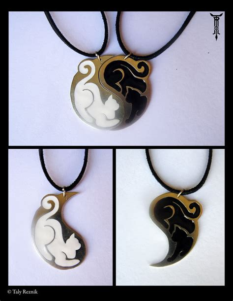 yin yang cats by trollgirl on deviantart