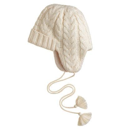 knit trapper hat trapper hats hats and flap hat on