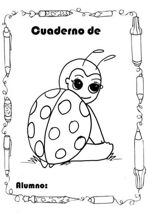 imagenes infantiles para caratulas 12 caratulas con dibujos infantiles para colorear e
